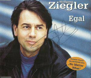 Cover - Wolfgang Ziegler: Egal