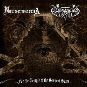 Necromantia: ...For The Temple Of The Serpent Skull... - Cover