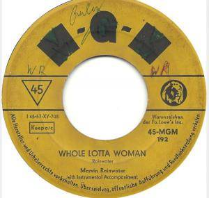 Cover - Marvin Rainwater: Whole Lotta Woman