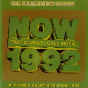 NOW That's What I Call Music! 1992 - Millennium Series [UK Series] - Cover