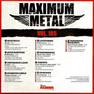 Metal Hammer - Maximum Metal Vol. 185 (CD) - Bild 2