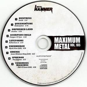 Metal Hammer - Maximum Metal Vol. 185 (CD) - Bild 3