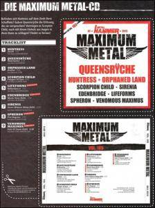 Metal Hammer - Maximum Metal Vol. 185 (CD) - Bild 9