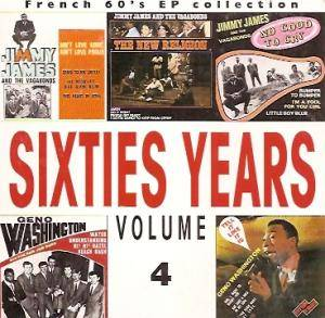 Cover - Jimmy James & The Vagabonds: French 60's EP Collection - Sixties Years Vol. 4