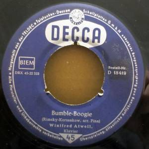 Cover - Winifred Atwell: Bumble-Boogie
