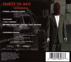 The Mars Volta: Frances The Mute (CD) - Bild 2