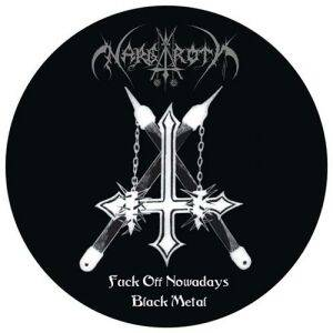 Nargaroth: Fuck Off Nowadays Black Metal - Cover