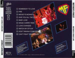 Mother's Finest: Live (CD) - Bild 2
