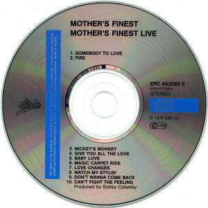 Mother's Finest: Live (CD) - Bild 3