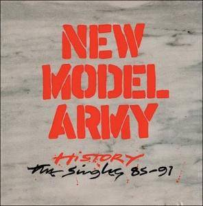 New Model Army: History - The Singles 85-91 - Cover