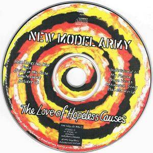 New Model Army: The Love Of Hopeless Causes (CD) - Bild 5