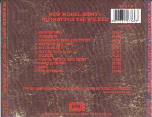 New Model Army: No Rest For The Wicked (CD) - Bild 2