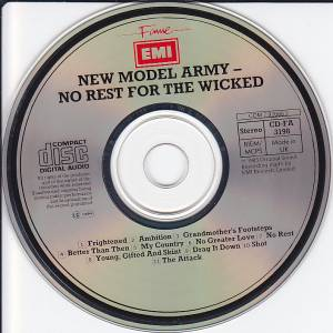 New Model Army: No Rest For The Wicked (CD) - Bild 3