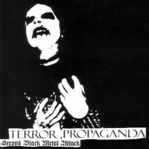 Craft: Terror Propaganda - Second Black Metal Attack - Cover