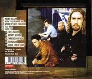 Nickelback: Silver Side Up (CD) - Bild 2
