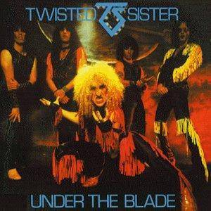 Twisted Sister: Under The Blade - Cover