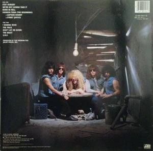 Twisted Sister: Stay Hungry (LP) - Bild 2