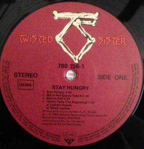 Twisted Sister: Stay Hungry (LP) - Bild 3
