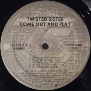 Twisted Sister: Come Out And Play (LP) - Bild 4