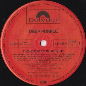 Deep Purple: The House Of Blue Light (LP) - Bild 4