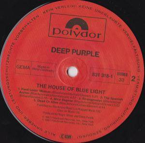 Deep Purple: The House Of Blue Light (LP) - Bild 5