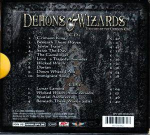 Demons & Wizards: Touched By The Crimson King (2-CD) - Bild 2