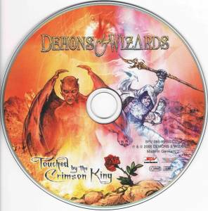 Demons & Wizards: Touched By The Crimson King (CD) - Bild 5