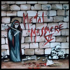 Metal Massacre VI - Cover