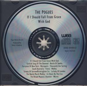 The Pogues: If I Should Fall From Grace With God (CD) - Bild 3