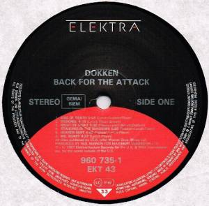 Dokken: Back For The Attack (LP) - Bild 3