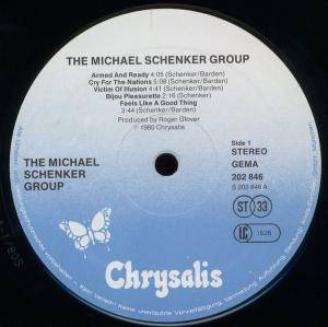 Michael Schenker Group: The Michael Schenker Group (LP) - Bild 4