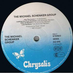 Michael Schenker Group: The Michael Schenker Group (LP) - Bild 5