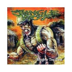 Jungle Rot: Slaughter The Weak - Cover