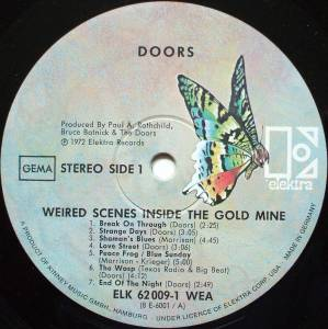 The Doors: Weird Scenes Inside The Gold Mine (2-LP) - Bild 4