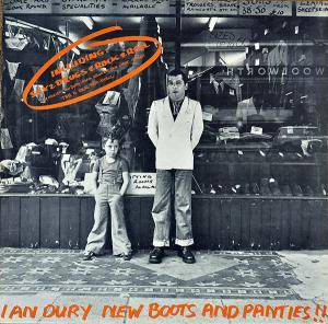 Ian Dury: New Boots And Panties!! - Cover