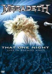 Megadeth: That One Night - Live In Buenos Aires - Cover