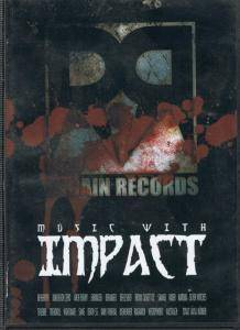 Cover - Nightmare: Regain Records - Music With Impact DVD