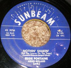 Cover - Eddie Fontaine: Nothin' Shakin'