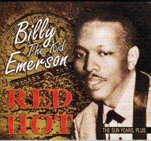 Cover - Billy The Kid Emerson: Red Hot - The Sun Years, Plus