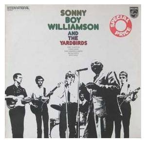 Sonny Boy Williamson & The Yardbirds: Sonny Boy Williamson And The Yardbirds - Cover