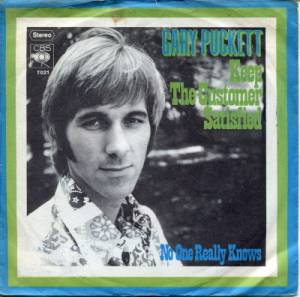 Cover - Gary Puckett: Keep The Customer Satisfied