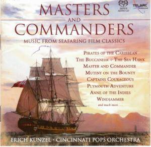 Masters And Commanders / Music From Seafaring Film Classics - Cover