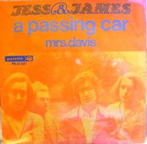 Jess & James: Passing Car, A - Cover