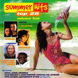 Summer Hits Top 25 Volume Two - Cover