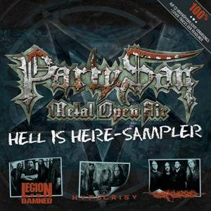 Cover - Legion Of The Damned: Party.San • Hell Is Here-Sampler