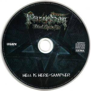 Carcass / Hypocrisy / Legion Of The Damned: Party.San • Hell Is Here-Sampler (Split-Mini-CD / EP) - Bild 4