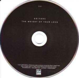 Editors: The Weight Of Your Love (CD + Mini-CD / EP) - Bild 3