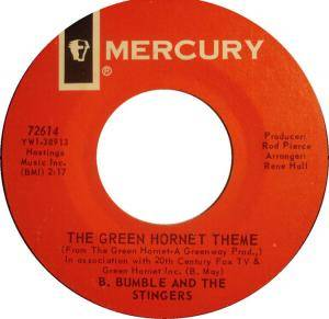 Cover - B. Bumble & The Stingers: Green Hornet Theme, The