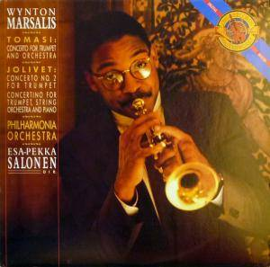 Wynton Marsalis: Tomasi: Concerto For Trumpet And Orchestra / Jolivet: Concerto No. 2 For Trumpet - Concertino For Trumpet, String Orchestra And Piano - Cover