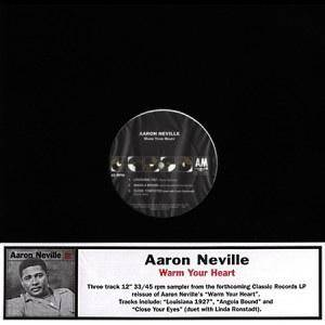 Cover - Aaron Neville: Warm Your Heart